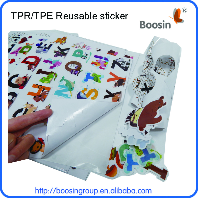 TPE Magic sticker